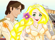 play Rapunzel Wedding Dress Up