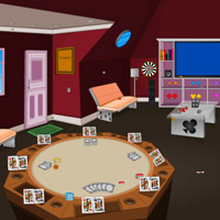 play Poker House Escape