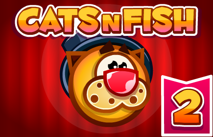 Catsnfish 2 flash for Fish game for cats