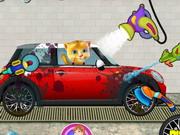 play Ginger Car Wash