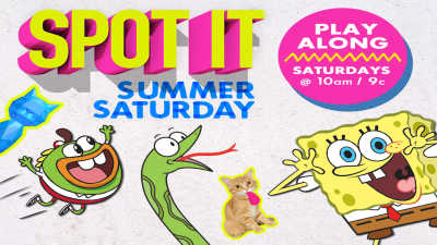 Spot It Summer Saturday game