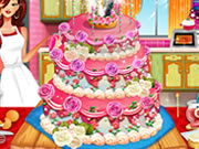 play Realistic Wedding Cake Decor