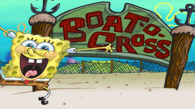 Spongebob Squarepants: Boat-O-Cross game