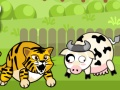 Tiger Eat Cow game
