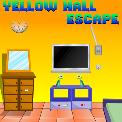 play Yellow Hall Escape