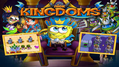 Nickelodeon Kingdoms game