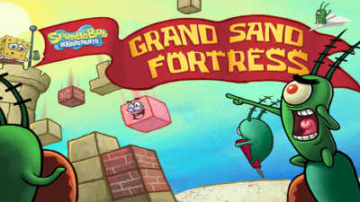 Spongebob Squarepants: Grand Sand Fortress game