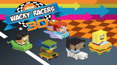 Nick Wacky Racers 3D game