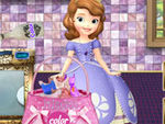 play Sofia The First Washing Dresses