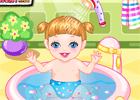 Baby Alice Bathing game