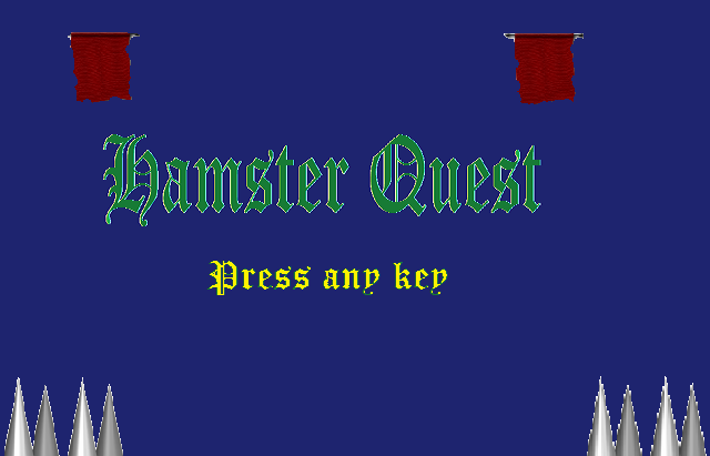 Hamster Quest game