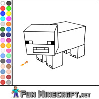 play Color Pig Minecraft