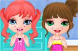 Baby Barbie Slumber Party game