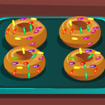 Cooking Tasty Donuts game