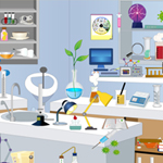 Biology Lab Objects game