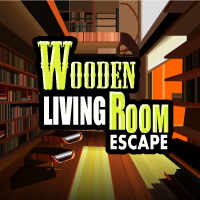 Wooden Living Room Escape game