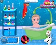 Frozen Baby Summer Bath game