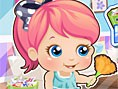 Baby Alice Party Clean Up game