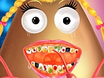 Pou Girl Dentist game