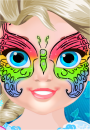 Baby Elsa Butterfly Facial Art game
