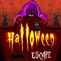 Ena Halloween Cat Escape game