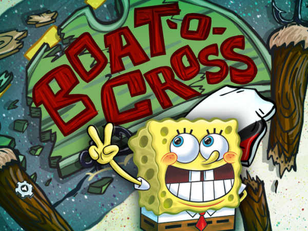 Spongebob Squarepants: Boat-O-Cross 2 game