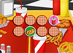 play Fast Food Memory