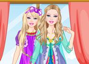 play Barbie Morning Princess Dress Up