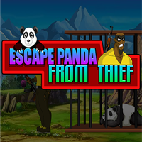 play Enagames Escape Panda From The Thief