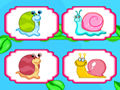 Twirl Snail Pairs game