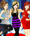 Girl Band Dress Up game