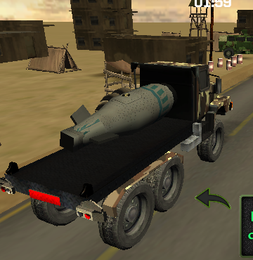 Bomb Transport 3D game