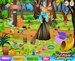 Princess Aurora Forest Cleaning game