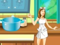 play Violetta Cooking For Leon
