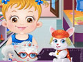 Baby Hazel: Pet Party game