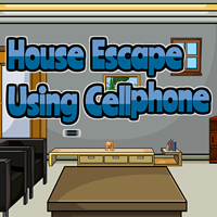 Ena House Escape Using Cellphone game