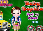 Baby Sophia Back To School game