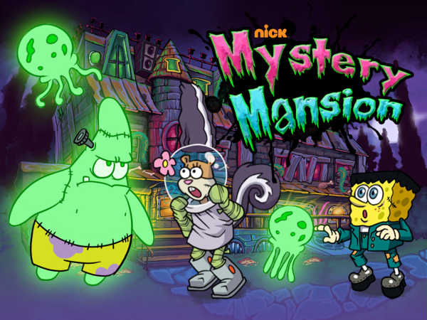 Nickelodeon Mystery Mansion game
