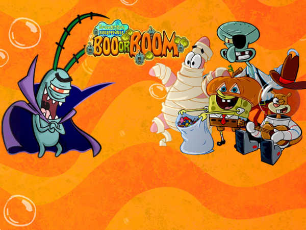 Spongebob Squarepants: Boo Or Boom game
