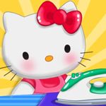 play Hello Kitty Laundry Day