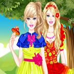 play Barbie Enchanted Princess Dress Up