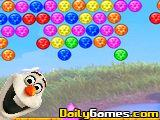 play Olaf Bubble Shooter