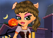 play Halloween Wolf Day In Hair Saloon Dressup