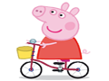 Piggy On Bike game