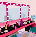 play Wow Makeup Room Escape