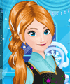 Anna Frozen Frosty Make Up game