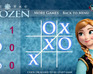 Anna Frozen Tic Tac Toe game