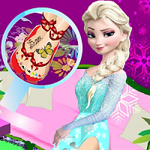 Elsa Fancy Pedicure game
