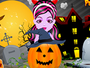 Baby Monster Halloween Pumpkin game