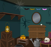 Wow Scary Halloween House Escape 4 game